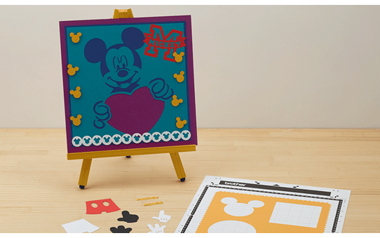 Disney Mickey & Friends papierpatrooncollectie CADSNP01 5