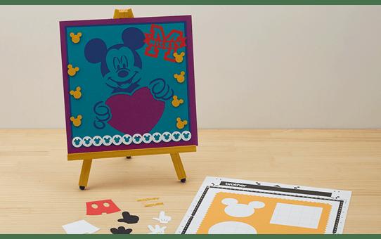 Collection de créations en papier «Mickey et Minnie» CADSNP01 5