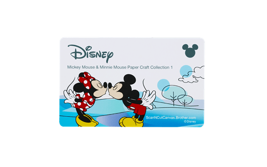 Disney Mickey & Friends papierpatrooncollectie CADSNP01 2