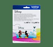 Collection de créations en papier Mickey Mouse et Minnie Mouse