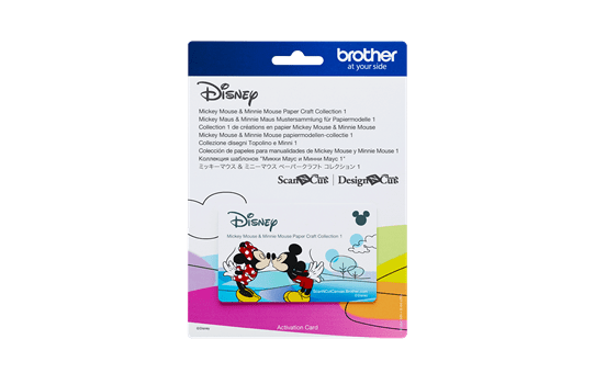 Disney Mickey & Friends papierpatrooncollectie CADSNP01