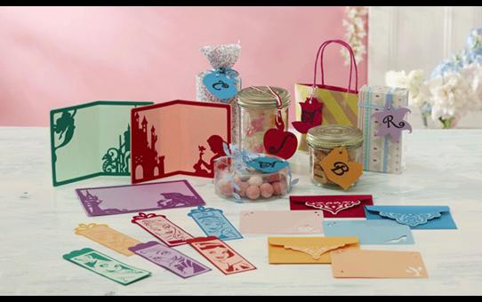 Collection de créations en papier Princesses de Disney CADSNP02 2