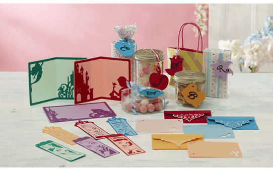 Collection de créations en papier Princesses de Disney CADSNP02 2