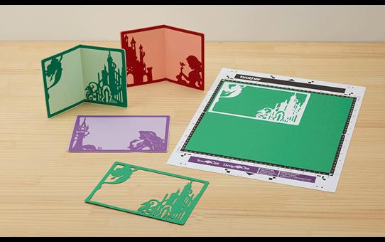 Collection de créations en papier Princesses de Disney CADSNP02 3