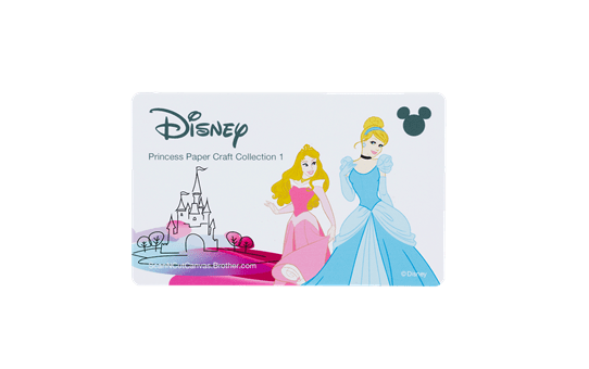 Collection de créations en papier Princesses de Disney CADSNP02