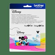 Mickey und Freunde Mustersammlung für Applikationen