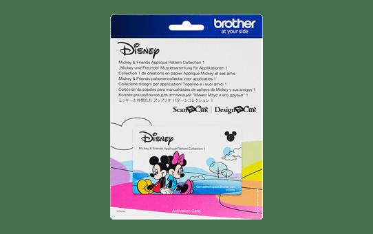 Disney Mickey & Friends applicatiepatrooncollectie CADSNP03