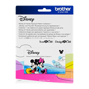 Mickey Mouse and Friends Appliqué ScanNcut design collection
