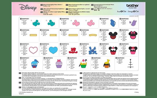 Collezione disegni per applicazioni Disney Mickey and Friends CADSNP03 8