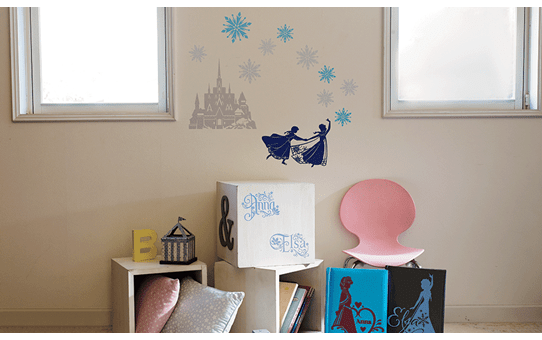 Collection de motifs Disney La Reine des Neiges CADSNP04 7