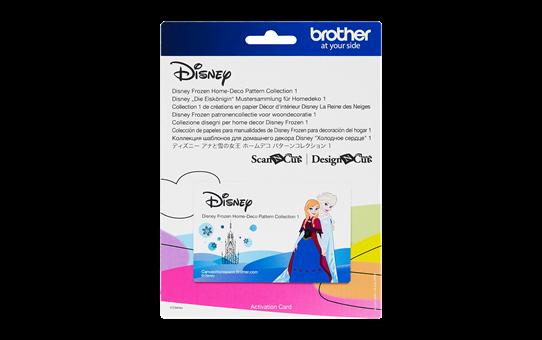 Collection de motifs Disney La Reine des Neiges CADSNP04