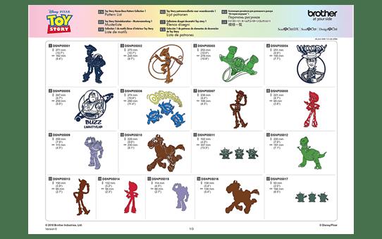 Collezione disegni decorativi Toy Story Disney CADSNP05 6