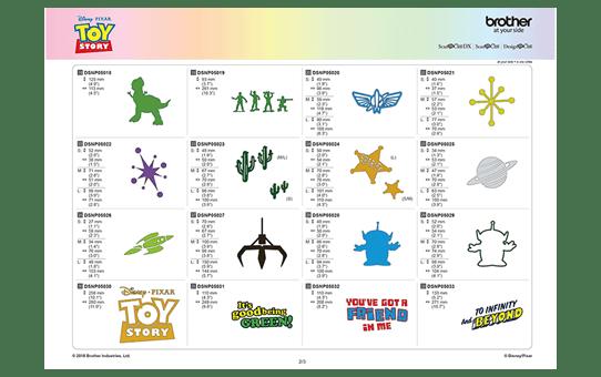 Collezione disegni decorativi Toy Story Disney CADSNP05 7