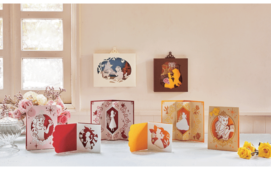 Collezione di disegni Biancaneve e Belle Disney CADSNP06 2