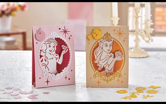 Collezione di disegni Biancaneve e Belle Disney CADSNP06 3
