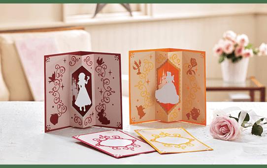 Collezione di disegni Biancaneve e Belle Disney CADSNP06 4