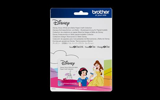 Collezione di disegni Biancaneve e Belle Disney CADSNP06