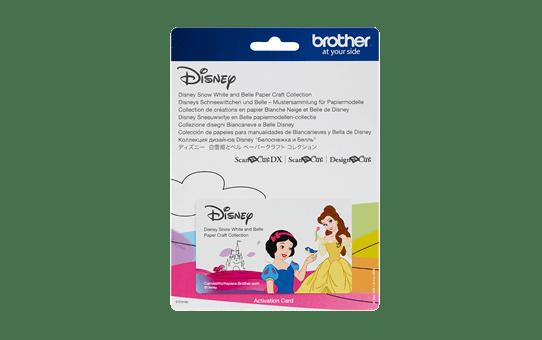 Disney Sneeuwwitje en Belle papierpatrooncollectie CADSNP06