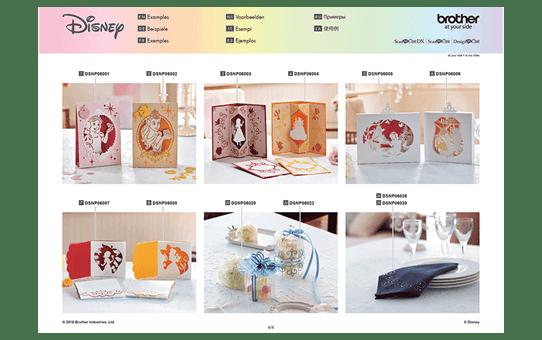 Disney Sneeuwwitje en Belle papierpatrooncollectie CADSNP06 12