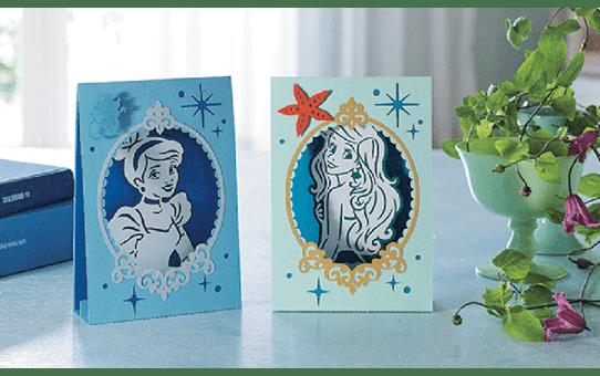 """Disney Musterkollektion """"Aschenputtel und Ariel"""" für Papier CADSNP07 3"""