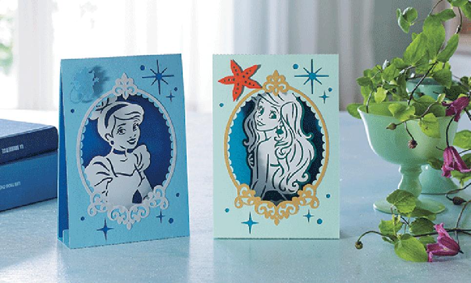 Disney Cinderella and Ariel Paper design collection CADSNP07 3