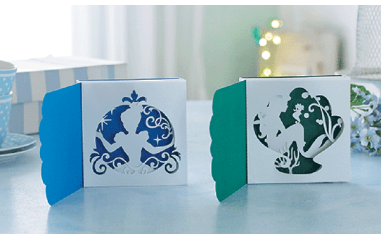 Disney Cinderella and Ariel Paper design collection CADSNP07 4