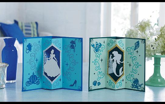 """Disney Musterkollektion """"Aschenputtel und Ariel"""" für Papier CADSNP07 5"""