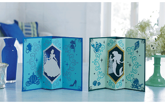 Collection de motifs Cendrillon et Ariel de Disney CADSNP07 5