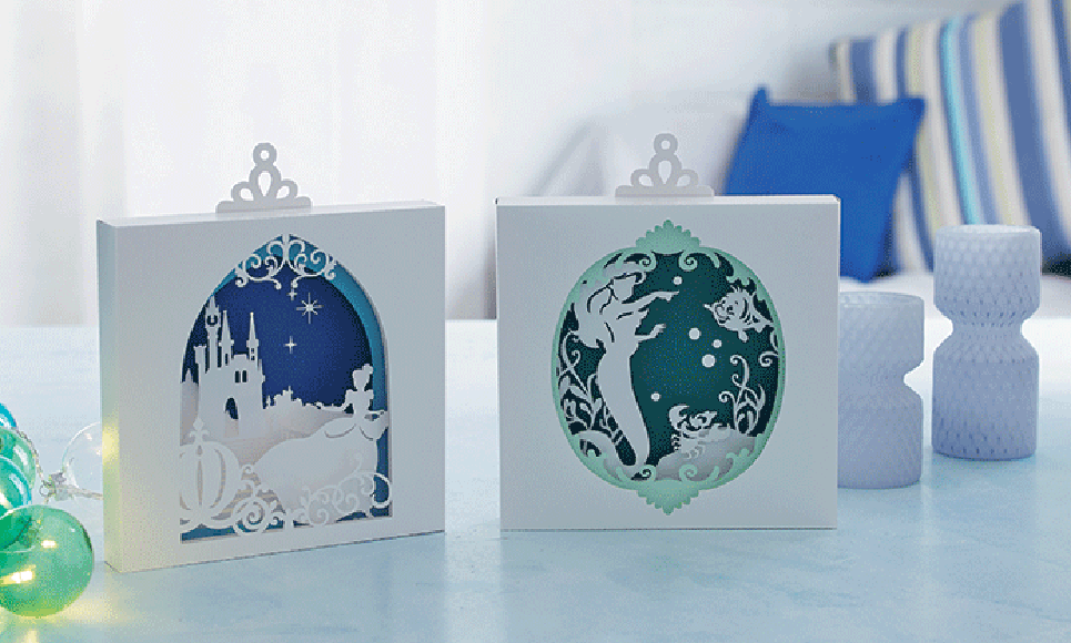Disney Cinderella and Ariel Paper design collection CADSNP07 8