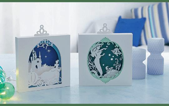 Collection de motifs Cendrillon et Ariel de Disney CADSNP07 8