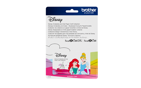 Disney Cinderella and Ariel Paper design collection CADSNP07