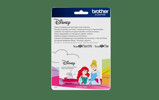 Disney Assepoester en Ariël snijpatronencollectie CADSNP07