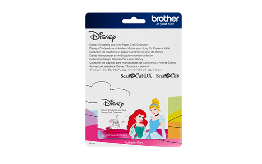 Collection de motifs Cendrillon et Ariel de Disney CADSNP07