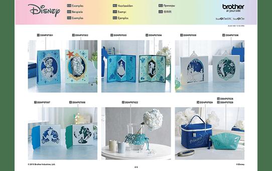Collection de motifs Cendrillon et Ariel de Disney CADSNP07 9