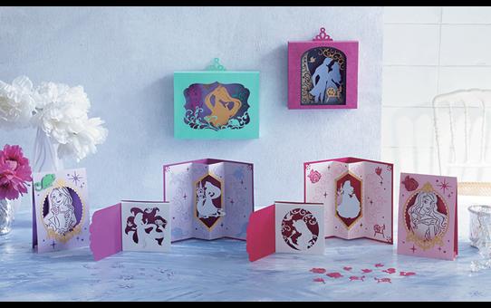 Collection de motifs Raiponce et Aurore de Disney CADSNP08 2