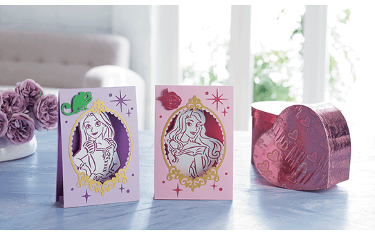 Collection de motifs Raiponce et Aurore de Disney CADSNP08 3