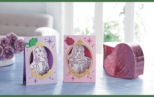 Disney Rapunzel and Aurora Paper design collection CADSNP08 3