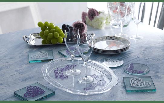 Collection de motifs Raiponce et Aurore de Disney CADSNP08 4