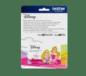 Collection de créations en papier Raiponce et Aurore de Disney