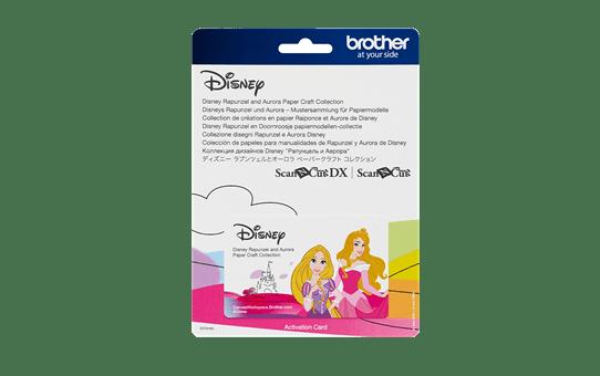 Disney Rapunzel en Doornroosje snijpatronencollectie CADSNP08