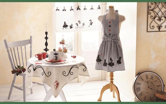 CADSNP09 Disney Alice im Wunderland Muster-Kollektion 10