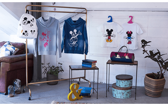 Collezione disegni Disney Mickey Mouse moderno & Minnie Mouse CADSNP10 2