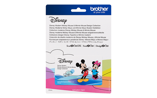 Disney Moderne Micky Maus und Minnie Maus Muster-Kollektion CADSNP10