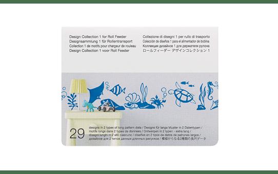 CADXRFDP01 Design Collectie 1 voor Roll Feeder