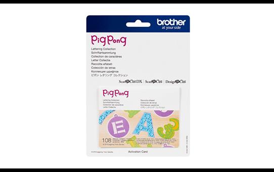 CAPPNP01 PigPong Letter Collectie