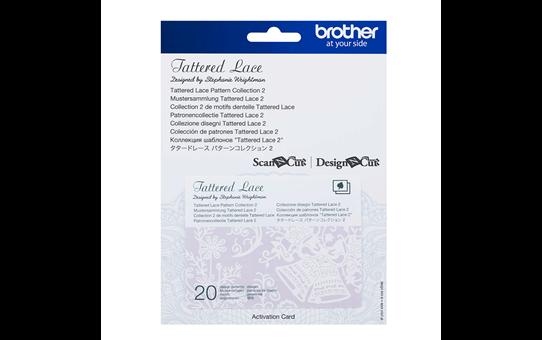 Collection n°2 de motifs dentelle Tattered Lace ScanNCut CATTLP02