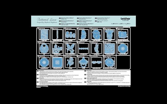 ScanNCut Tattered Lace-Kollektion 7 CATTLP07 2