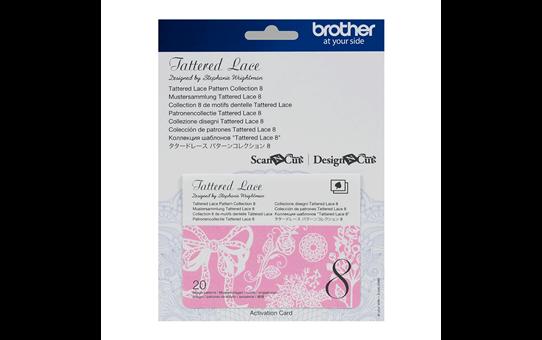 Collection n°8 de motifs dentelle Tattered Lace ScanNCut CATTLP08