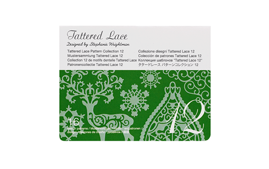 Collection n°12 de motifs dentelle Tattered Lace Brother ScanNCut CATTLP12