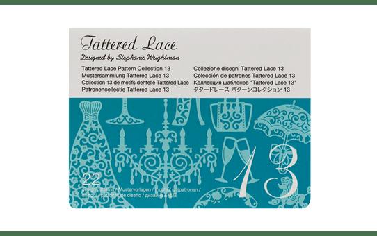 ScanNCut Tattered Lace-Kollektion 13 CATTLP13